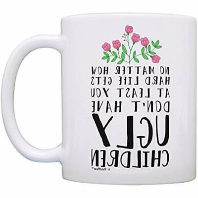 funny mom gifts at least you don