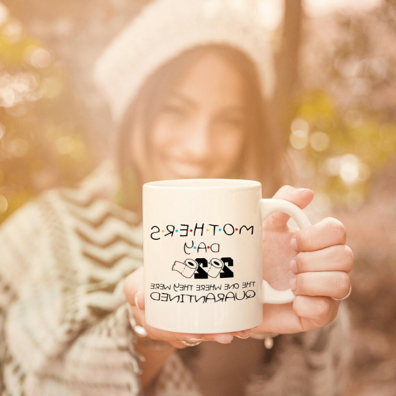 Funny Quarantined Gift Mom Parody Coffee Mug Mommy
