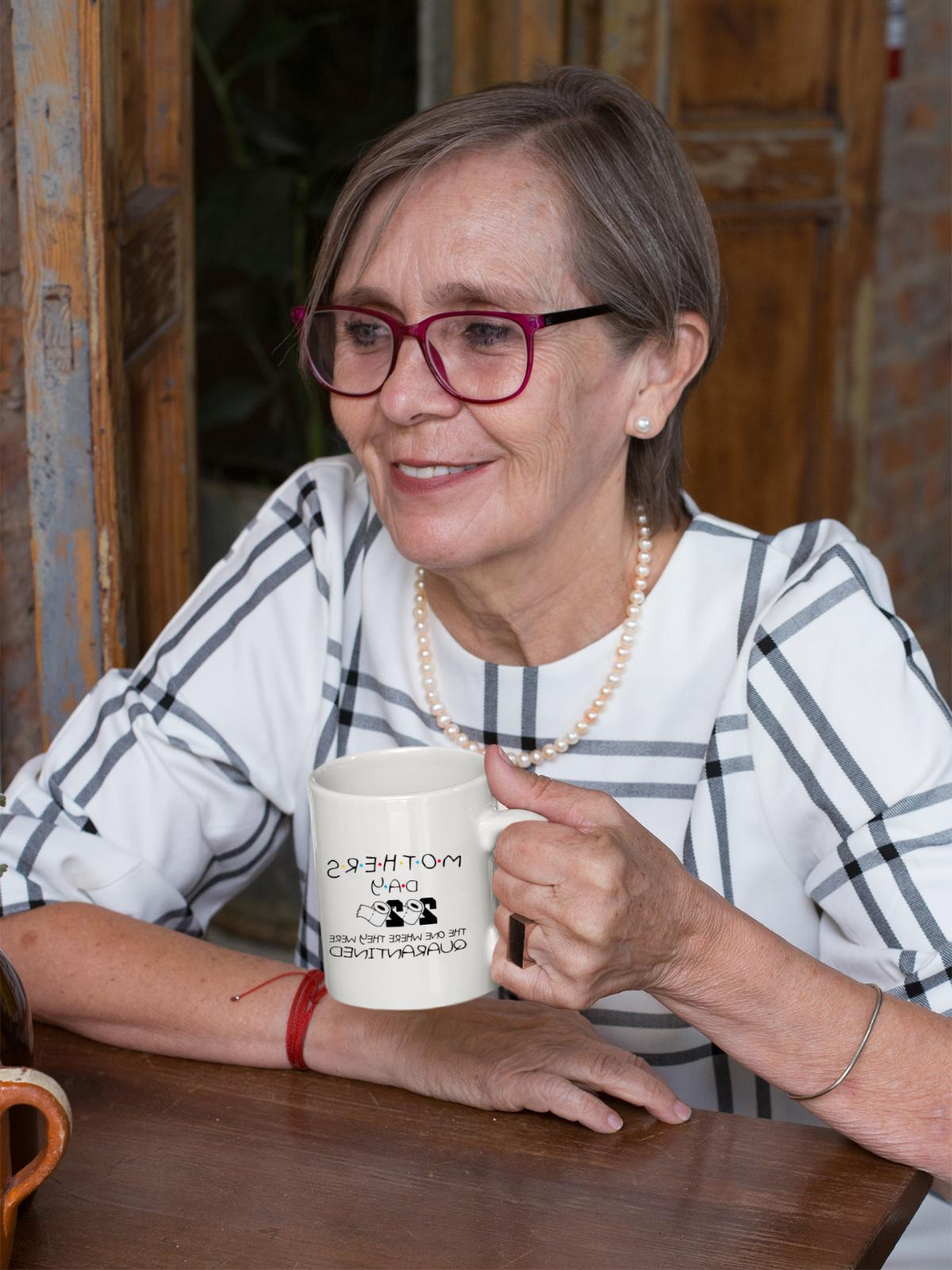 Funny Quarantined Mom Parody Coffee Mug Mommy