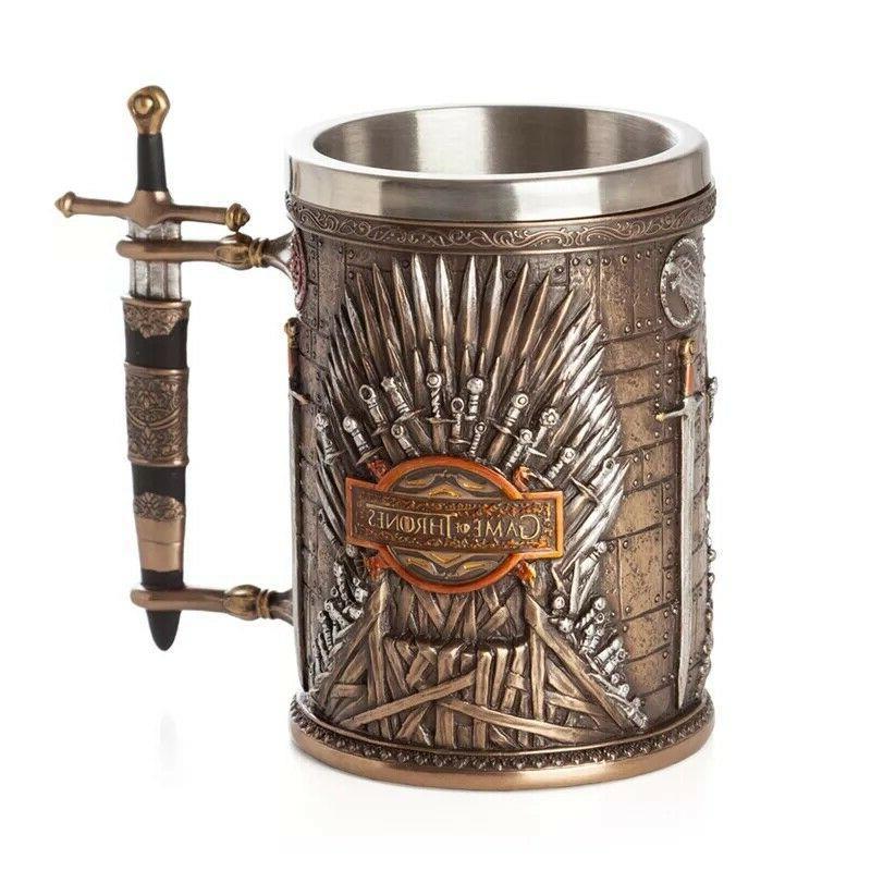 Game of Thrones Iron Throne Tankard Coffee Mugs Gift Stainle