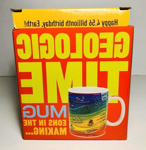 Geologic Time Mug CUP Unemployed Guild 2018 New