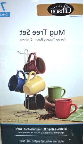 Piece 15-Ounce Set Colors