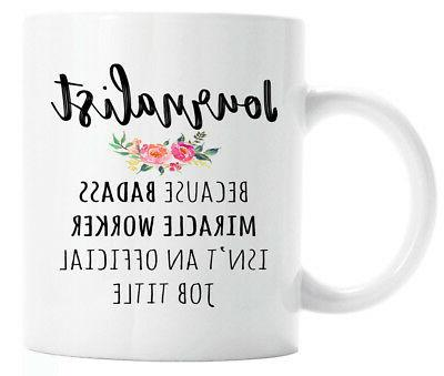 gift for journalist funny journalist coffee mug