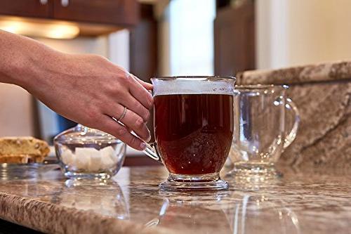 Anchor Glass Mug, of