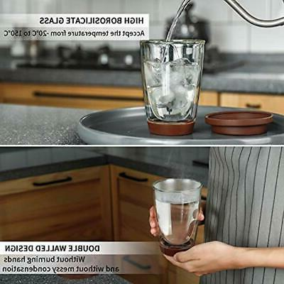 Sweese Glass Double Wall Thermo Insulated Borosilicate