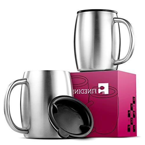 grade stainless steel coffee mugs