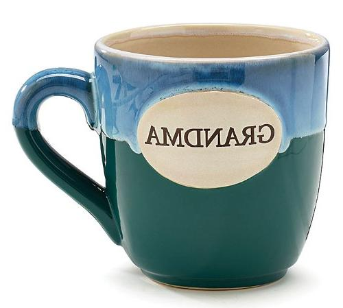 grandma teal porcelain coffee tea
