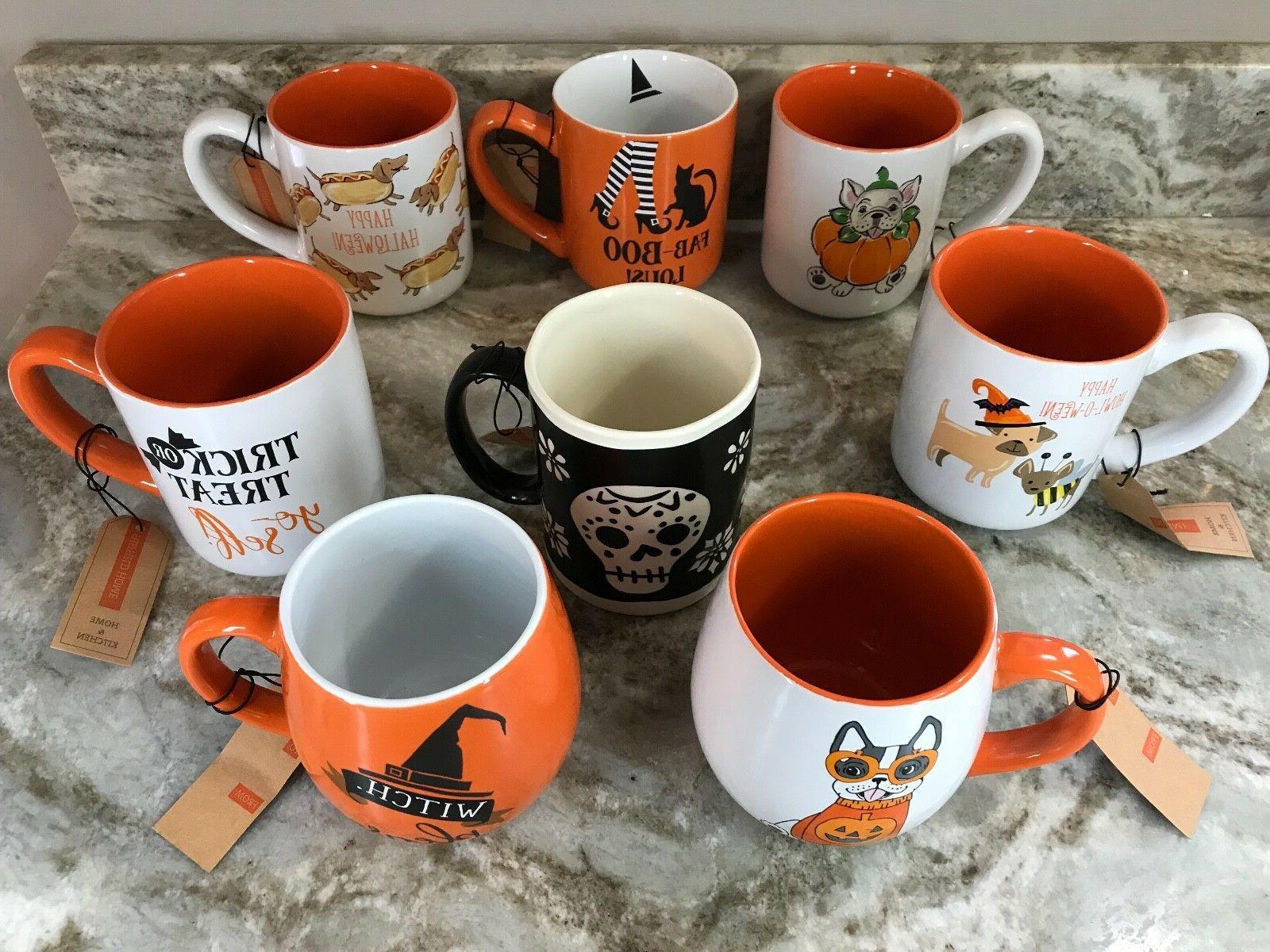 Halloween Mugs Design Boo, Or Treat You New