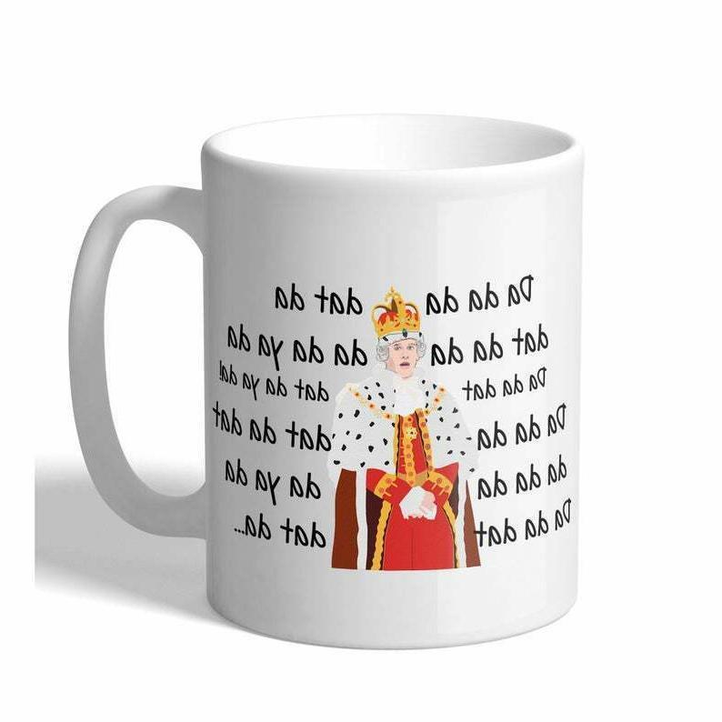 Hamilton King George Chorus Funny Novelty 11 Ounce Coffee Mu