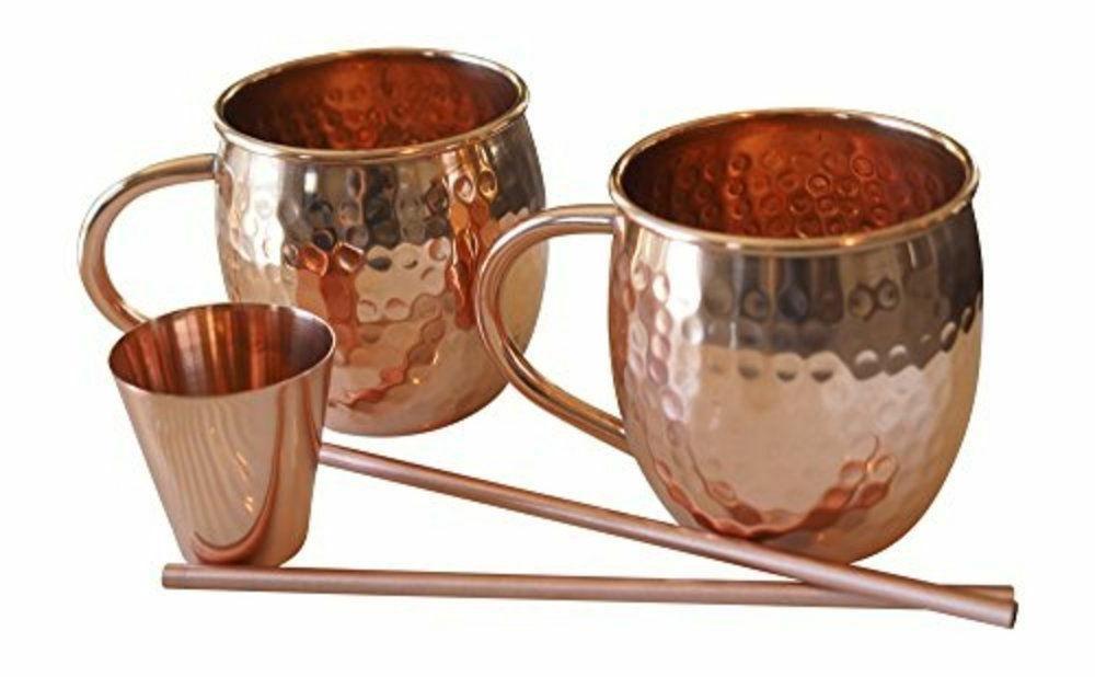 hammered moscow mule barware glassware drinkware gift