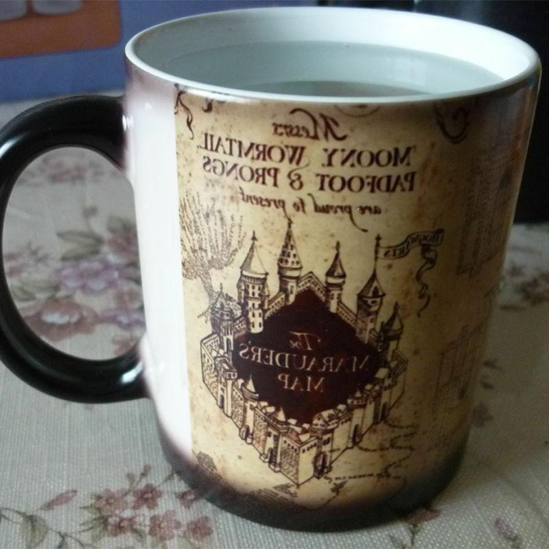 Harry Ceramic Changing Marauder Mug Sensitive Magic
