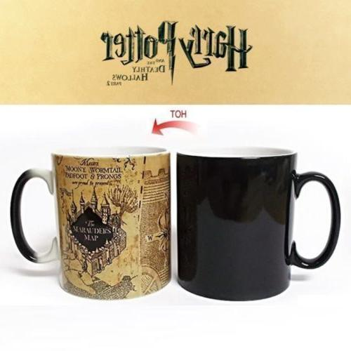 harry potter ceramic color changing mug heat