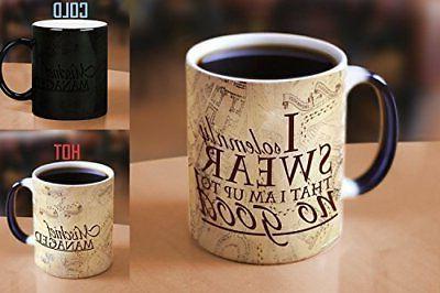 Morphing Mugs Harry Potter Hogwarts Magical Marauder's Map H