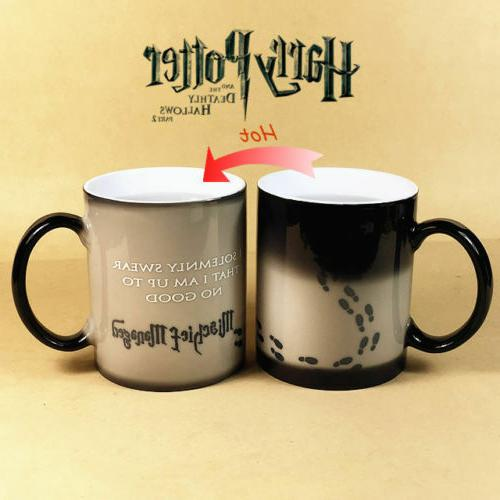 Harry Potter Mug Color Change Coffee Mug Mischief Managed Ma
