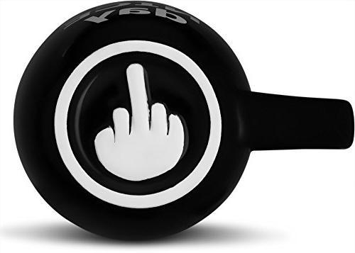 Decodyne Have Day Mug, Funny Cup with on Bottom 14 oz.