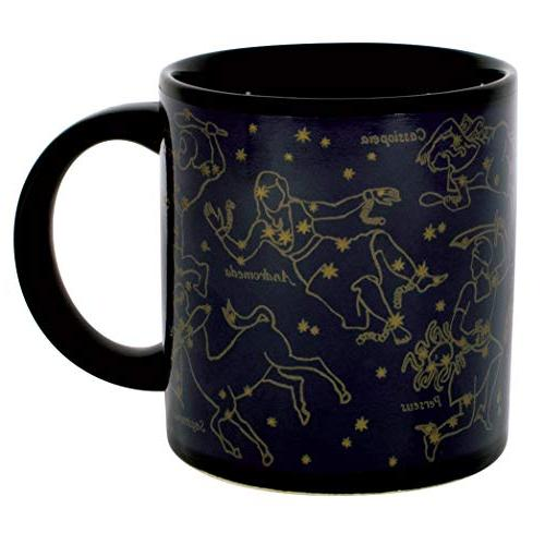 Heat Changing Constellation - Gold - Add or Tea and Constellations Appear - Comes in