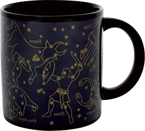 heat changing constellation mug stars