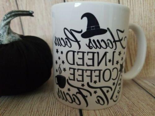 Hocus Coffee to Coffee Mug, Coffee Mug, Cup,...