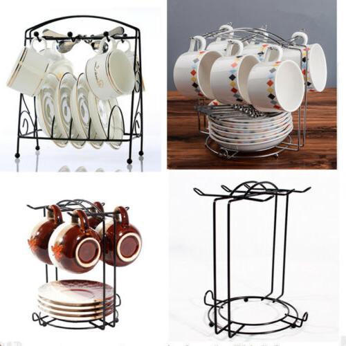 Home Mug Dish Rack Holder Tree Coffee Cup Hanger Kitchen Sto