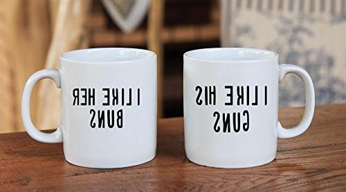 I I Like Her Buns Couples Funny Couple Coffee Mug For boyfriend and and Husband and -