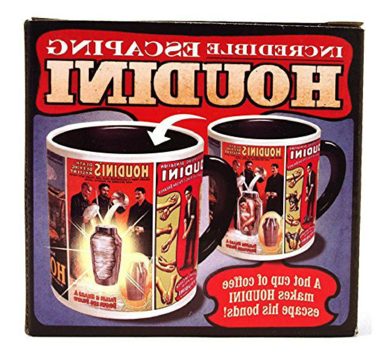 incredible escaping houdini mug by