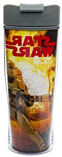 Zak! Designs Insulated Travel Mug with Star Wars The Force A