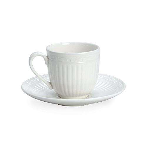 italian countryside espresso cup saucer