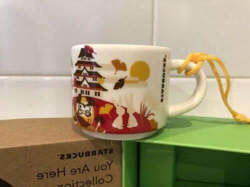 Starbucks JAPAN FALL Ornament SIZE MUG Here