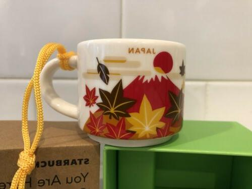 japan fall 2oz ornament mug not full
