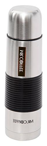 Mr Coffee Javelin 16 oz Thermal Bottle - Silicone Sleeve, ,