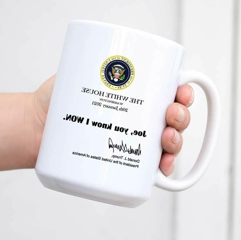 joe you know i won mug funny