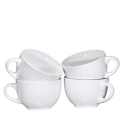 Jumbo Soup Bowl Cereal Mugs Mug Set of 24 Ounce,