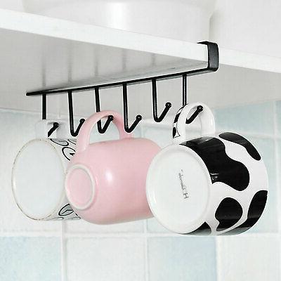 Kitchen Storage Hanging Hanger Mug Holder