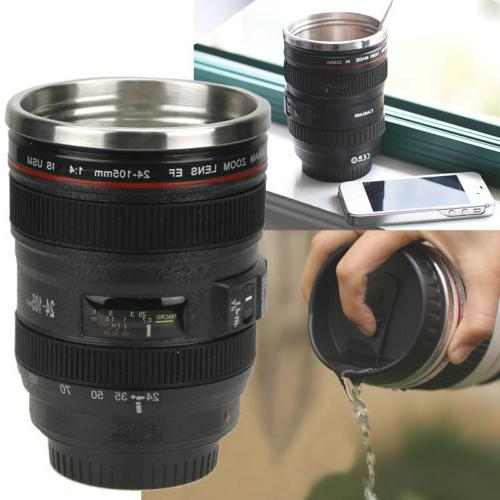 Camera Cup Coffee Travel Mug
