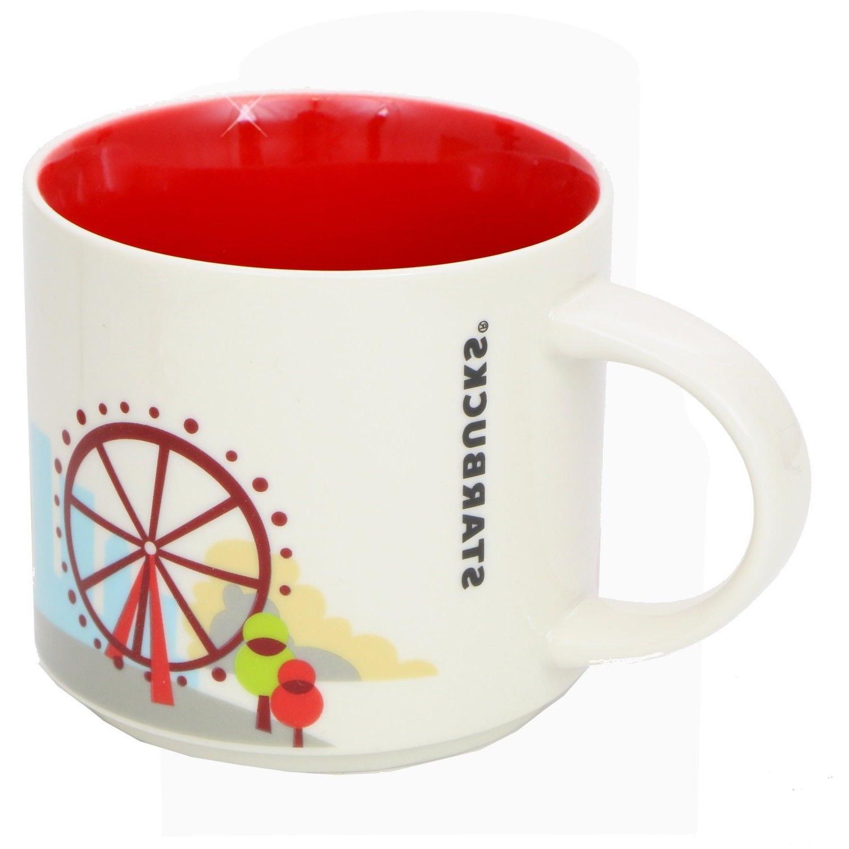 Starbucks Mug Are 14oz NEW in Box, London Keychain
