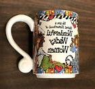Lot of 2 Wonderful Wacky Women Coffee Mugs Mom Daughter Frie