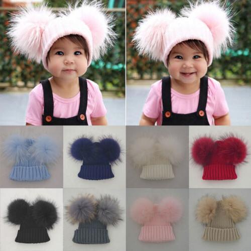 Lovely Toddler Kids Girl&Boy Baby Infant Winter Warm Crochet