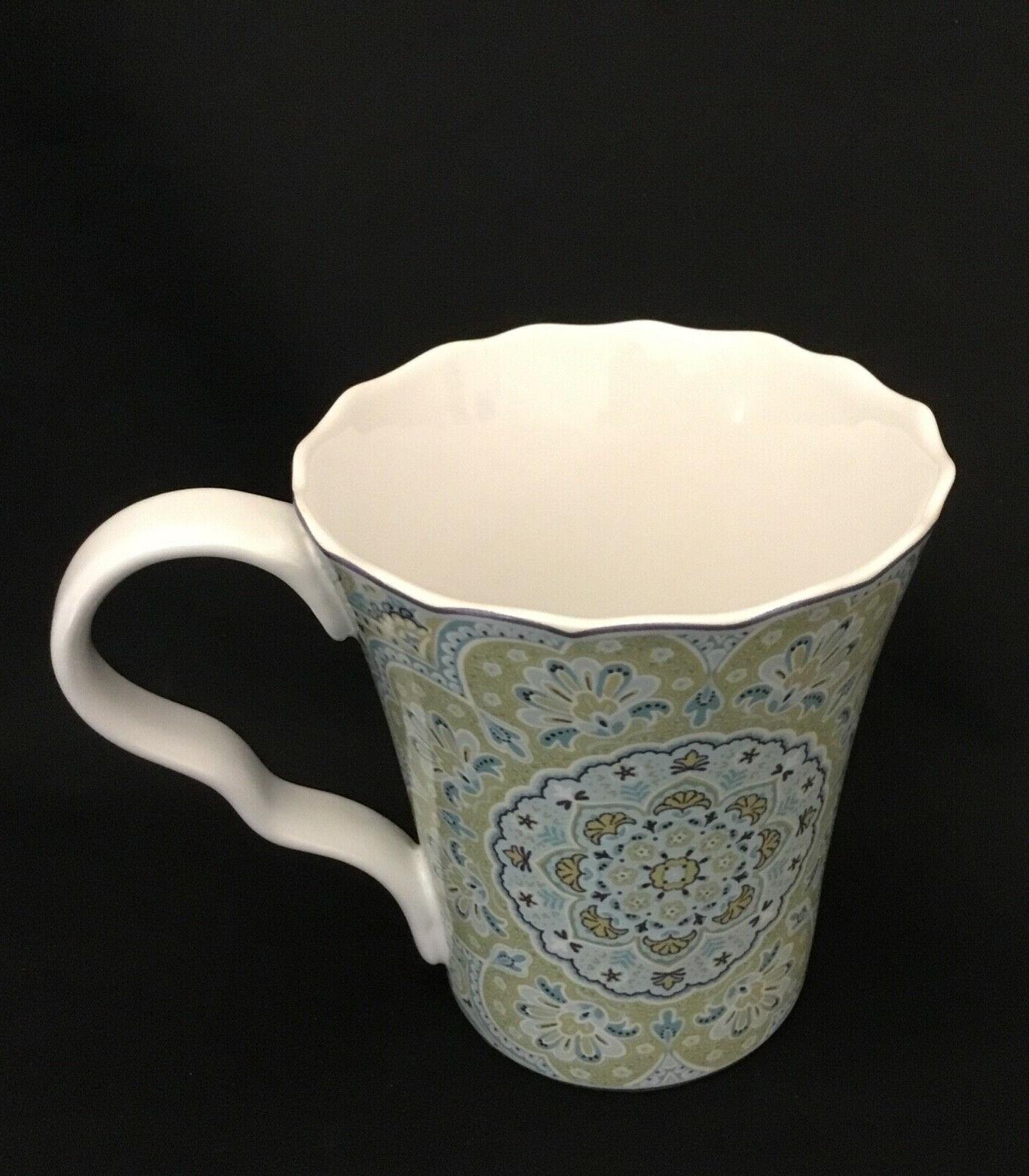 lyria teal set of 4 coffee tea