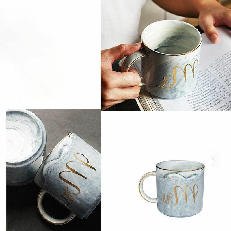 Marble Coffee 2 Ceramic Cups