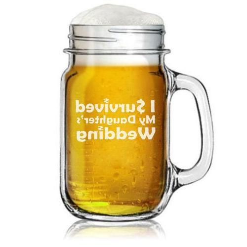 mason jar glass mug