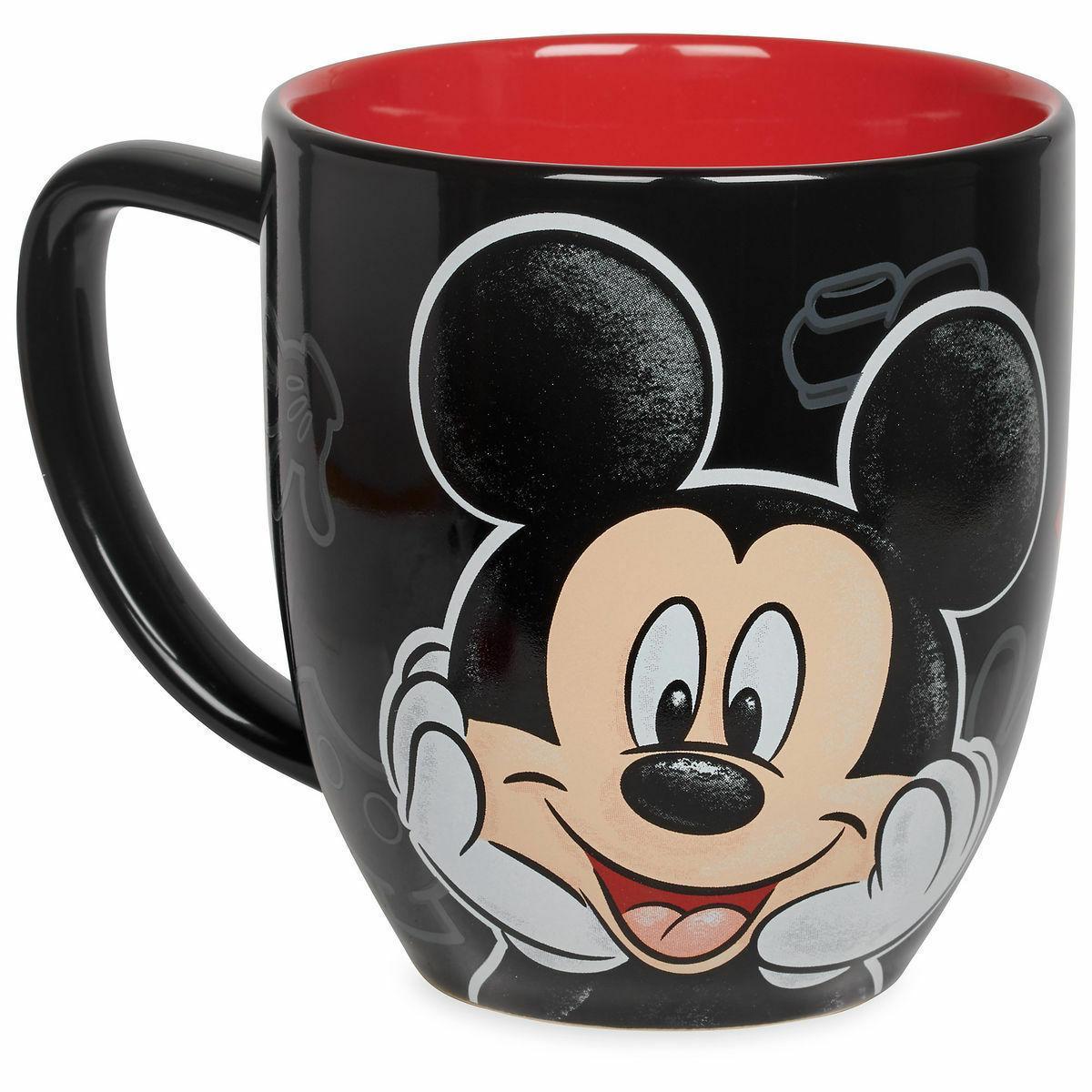 Disney Mickey Mouse Portrait Ceramic Coffee Mug 12 oz