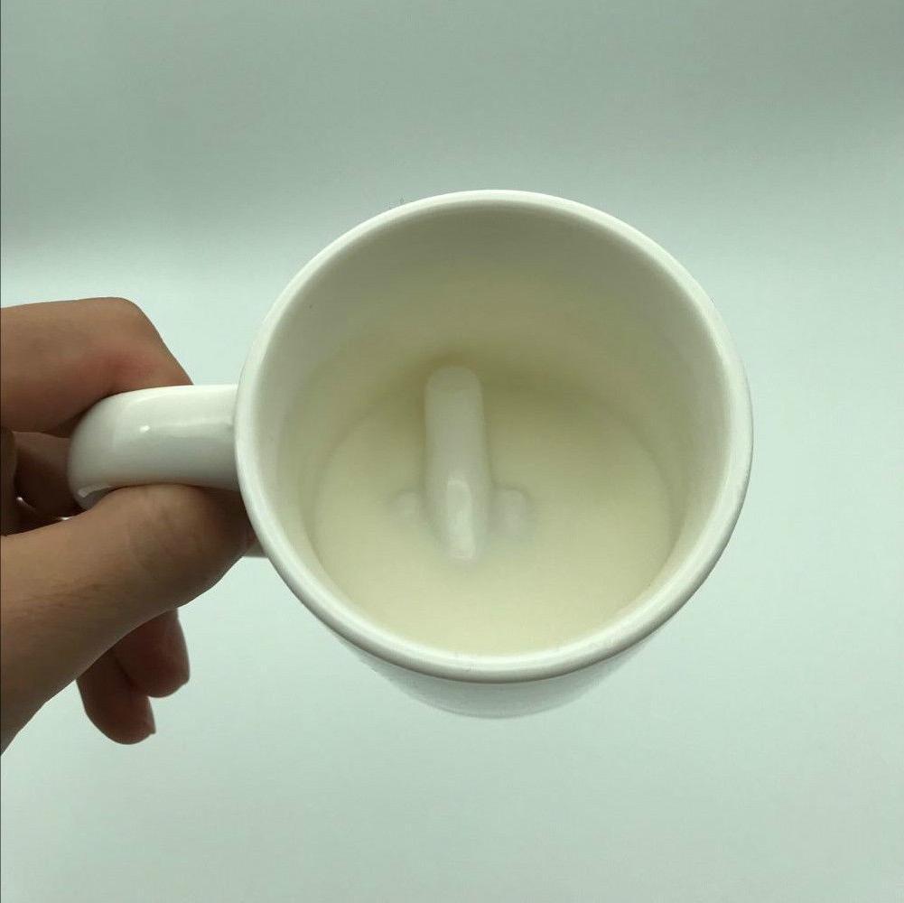 Middle Novelty Mug Creative Ceramic Tea Gift