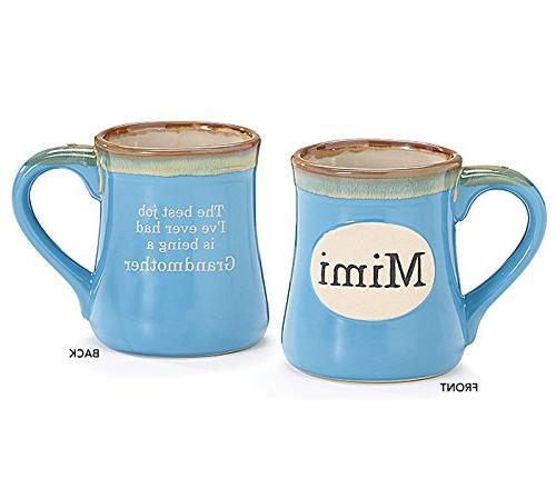 mimi handpainted porcelain coffee mug