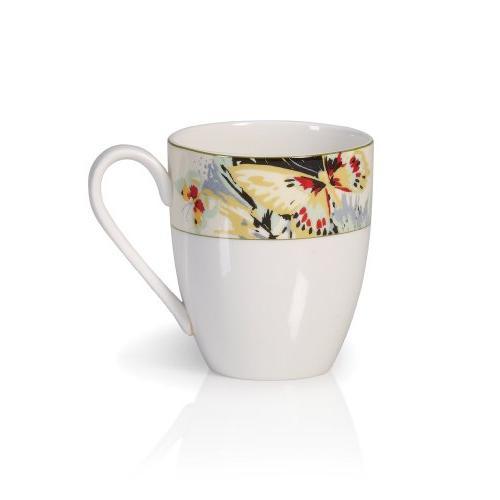 modern butterfly mug