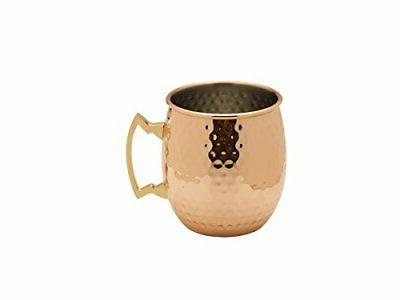 modernist copper plated moscow mule