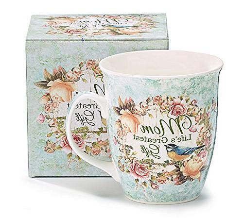 mom life greatest gift porcelain