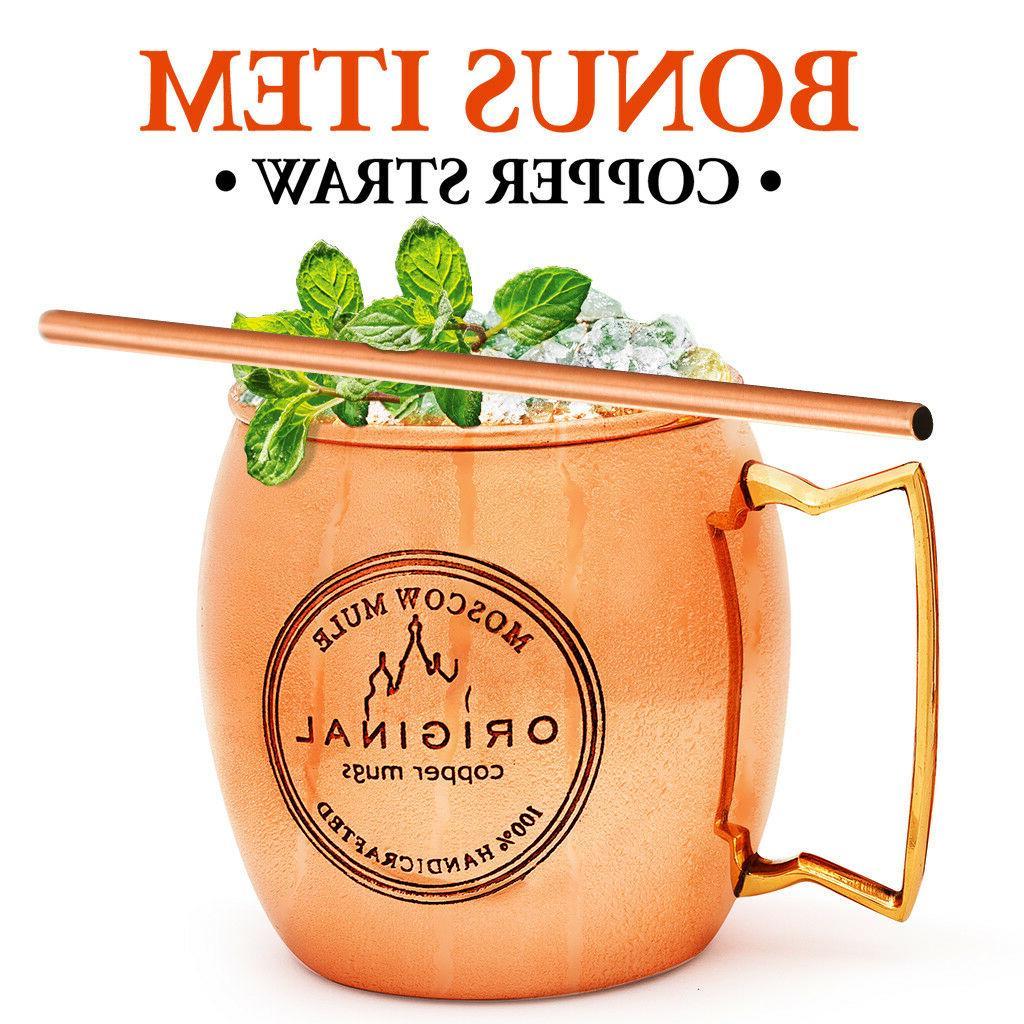 Food Safe 100% Pure Solid Copper 16 oz