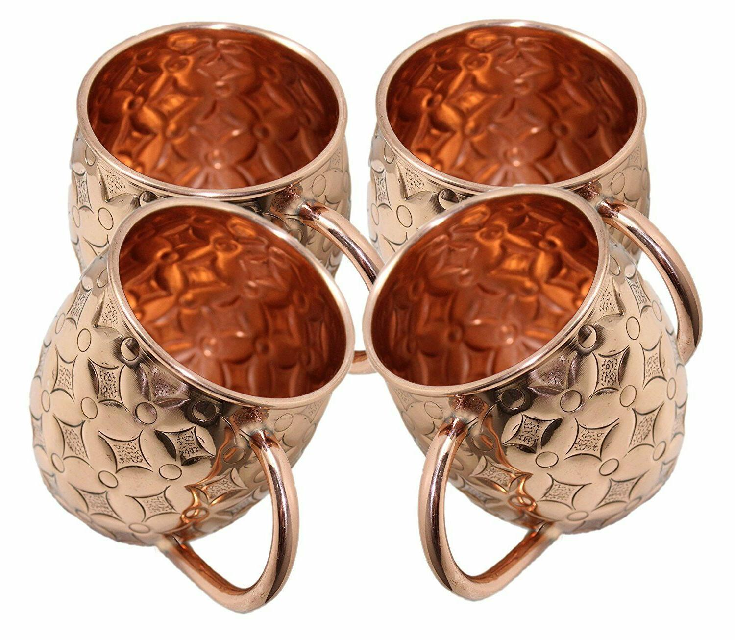 Moscow Mule Mugs Cups Gift Barware Hammered