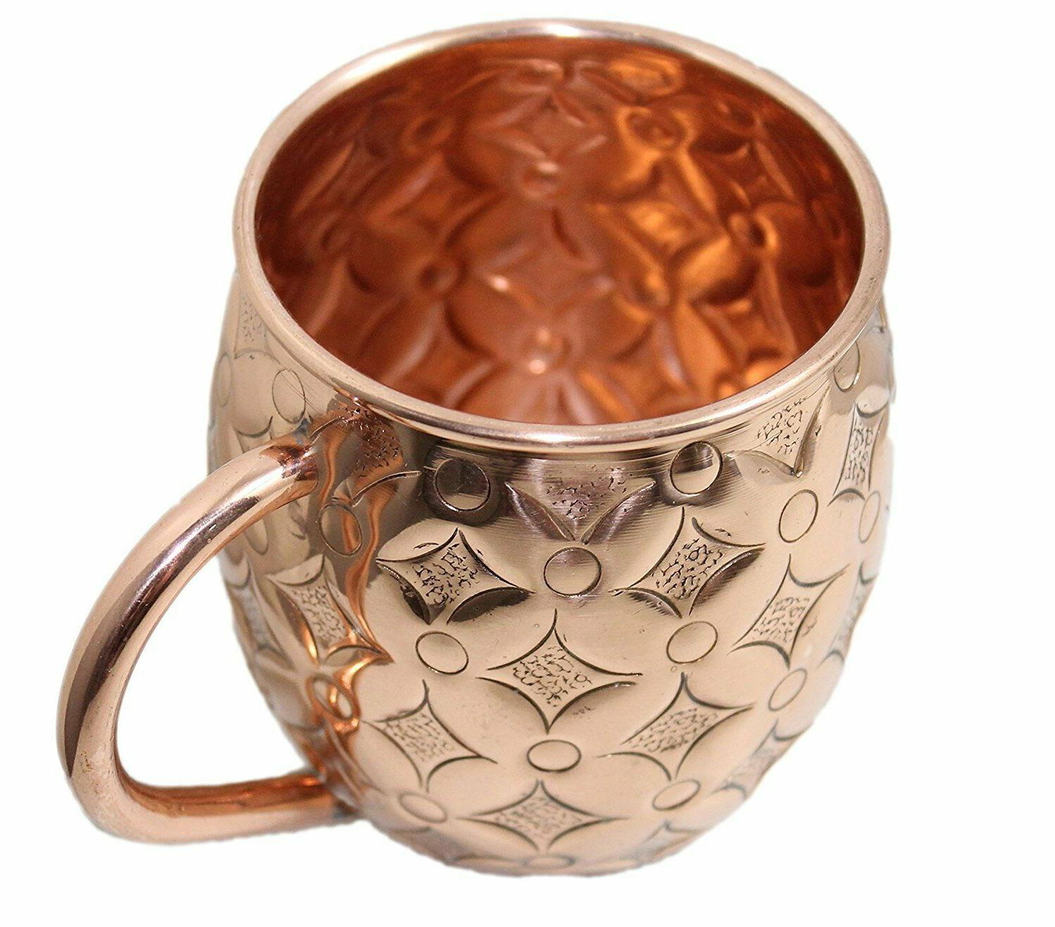 Moscow Mule Cups of Gift Hammered