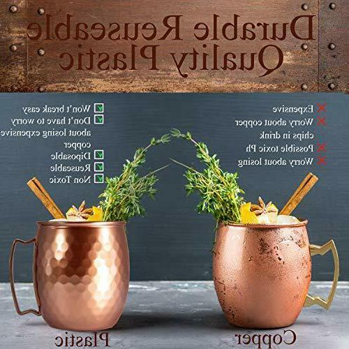 Moscow Mule Cups Gift Barware Hammered